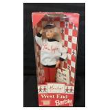 New Barbie in box Hamleys toy store attire.