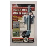 New in Box CPE Automotive Trailor Jack 1500 lb.