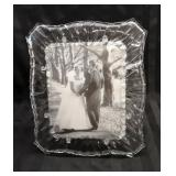 Mikasa Glass Picture Frame