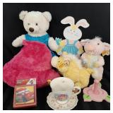 Cuteness overload lot of plushes and collectibles