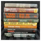 Lot of 8 military based novels and nonfictions