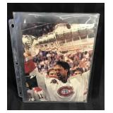 Patrick Roy Stanley Cup photo