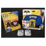 Kids Batman lot and earphones with mic.