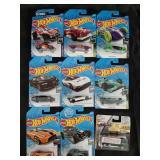 Hot Wheels Die Cast Car Lot - 8 Cars + 1 Maisto