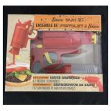 New in package sauce gun set