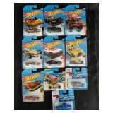 Hot Wheels & Maisto Die Cast Car Lot - 10 Cars