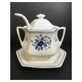 Adams Baltic Soup Tureen with Ladle