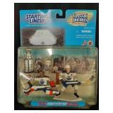 Wayne Gretzky & Grant Fuhr w/Stanley Cup in box