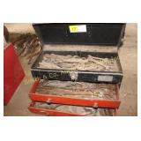 TOOL BOX w/ WRENCHES