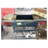 ROLLING TOOL BOX w/ MISC TOOLS