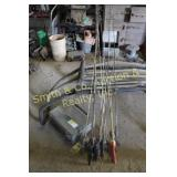 RODS & REELS, TACKLE BOX