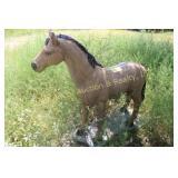 CONCRETE HORSE STATUE