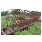 LARGE HAY RACK (rusted out on bottom)
