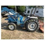 FORD 1720 TRACTOR W/ FRONT END LOADER