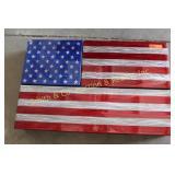 CONCEAL GUN BOX AMERICAN FLAG