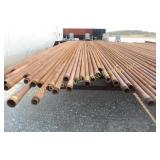2 3/8 PIPE - 54 JOINTS of PIPE