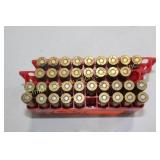AMMO - 9 Rounds 8mm Mauser, 19 Rounds 6mm