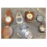 GROUP OF 6 POCKET WATCHES