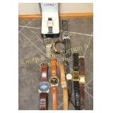 GROUP OF 10 WRIST WATCHES