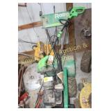 RALLY ROTO TILLER - REAR TINE, ELEC. WEED EATER