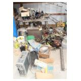 TABLE SAW, MISC. TOOLS & PARTS