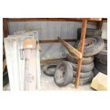 GROUP OF LIGHT FIXTURES, ROATER CRAFTER, TIRES