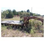 GOOSENECK TRAILER WITH DOVE TAIL & RAMPS