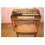 HAMMOND ORGAN(PENNY-OWSLEY) WITH BENCH