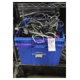 LOT, BIN OF WIRES & EXTENSIONS