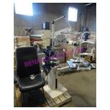 LOT, STAND, CHAIR, SLIT LAMP, PHOROPTOR ETC - NOTE