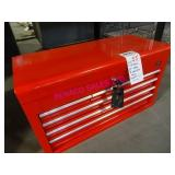 """1X, GLOBAL 27 """" RED  6 DRAWER TOOL CHEST"""