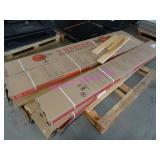 LOT, 6 BOXES NATURAL MAPLE HARDWOOD FLOORING