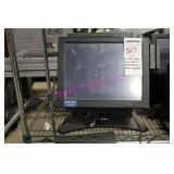 LOT,2 AVA VISUAL TOUCH POS W/CARD READER +METAL