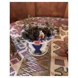 Porceline Flower pot