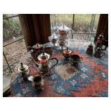 antique tea pot set