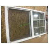 Vinyl Window 33 7/8 X 28 1/16 *Pane Broke*