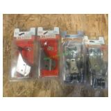2- New/Unused Coupler Repair Kits & 2 Handles