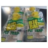 New/Unused 4- Big Bag Fly Traps