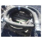 "2- 4"" Water Suction Hoses w/ Camlock Fittings"
