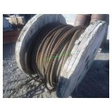 "1 1/4"" Steel Cable- Partial Spool"