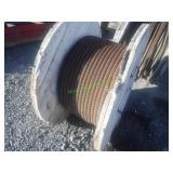 "1"" Steel Cable- Partial Spool"