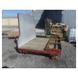 Semi Truck Drom Flat Bed- Extendable