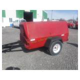 Ingersoll Rand Generator on Single Axle Trailer