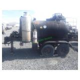 600 Gallon Asphalt Sealcoating Trailer