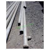 """5- 6"""" Aluminum Main Line Pieces"""