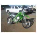 2001 Kawasaki KLX 300R Motorcycle