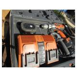 Ridgid 1/2in. 12v Drill, Batteries weak