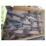 Assortment of gopher traps