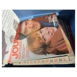 Tote of Old Magazines from 60-70s