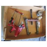 Puller, Chainsaw Sharpener & Plugs